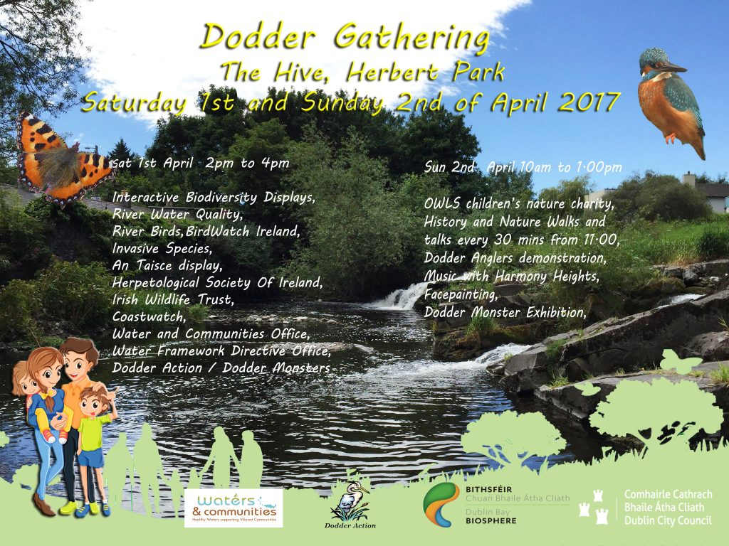 Dodder Family Fun Events 1-2 April